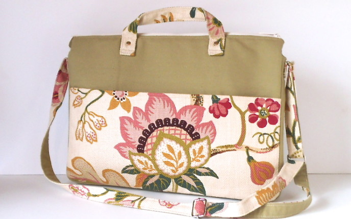 Floral Computer Bag - Version 2